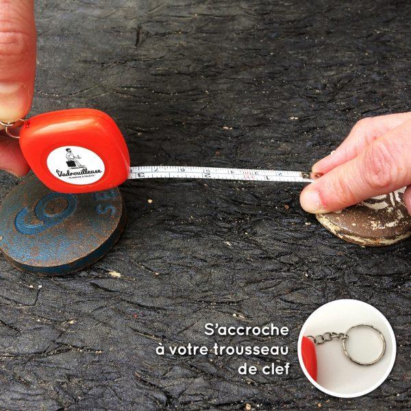 Metre mesure palets - La Vadrouilleuse