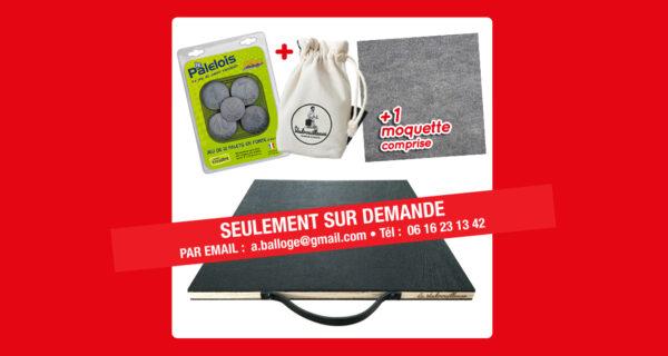 Pack planche à palet La Vadrouilleuse